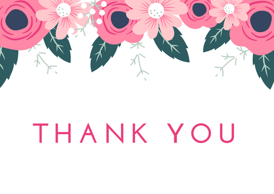 Printable Wedding Thank You Cards Thank You Note Wording