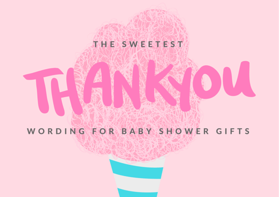 Baby Gift Thank You Note : Baby shower thank you notes free wording examples