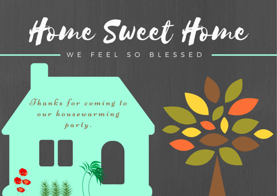 Housewarming Thank You Cards | FREE Printables