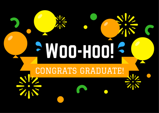 Graduation Greeting Card | Congrats Graduate