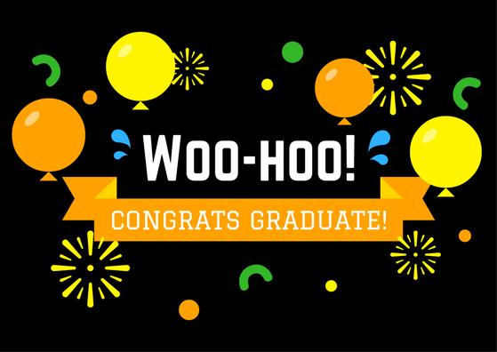 Graduation Greeting Card | Congrats Graduate