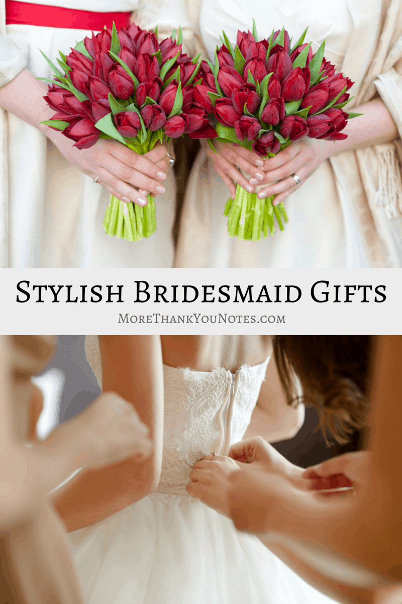 Stylish Bridesmaid Gifts