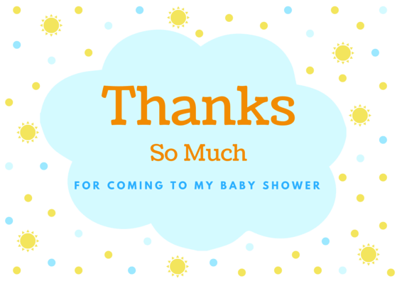 baby gift thank you notes  beautiful thank you card wording, Baby shower invitation