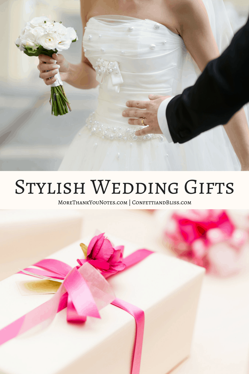 Stylish Wedding Gifts and Bridal Registry Ideas
