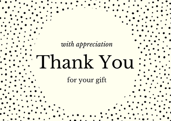 Birthday Gift Thank You Note Wording Examples – Thank You Note for Gift