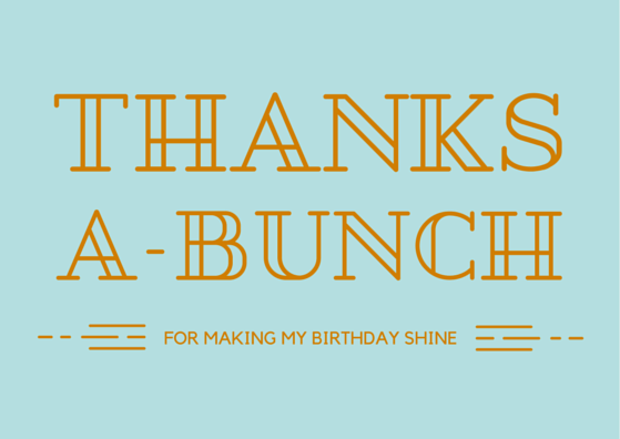 Birthday Gift Thank You Note Wording Examples – Thanks for Birthday Card