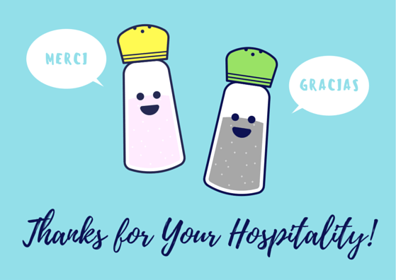 Hospitality Thank You Cards | FREE Printables!