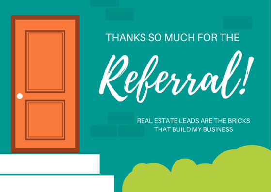 Thank You Card for Business Referral | morethankyounotes.com