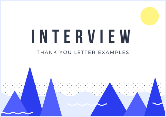 thank you card for interviews