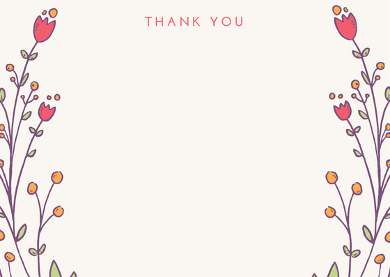 Thank You Card | Beautiful Greeting Card