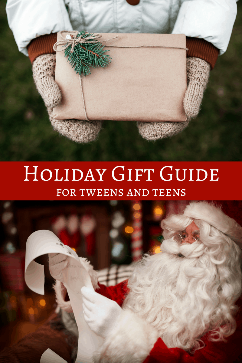 Holiday Gift Guide for Teens and Tweens | Christmas Gifts
