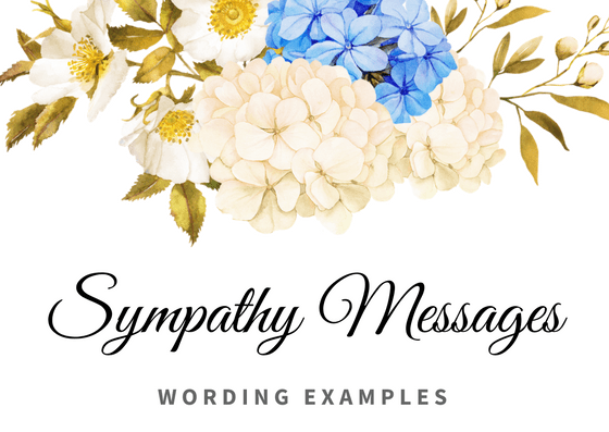 Sympathy Messages: What to say in a sympathy card